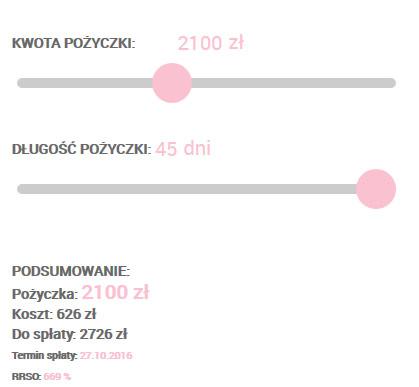 Screen ze strony Extraportfel.pl nr 2