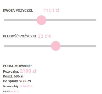 Screen ze strony Extraportfel.pl nr 1